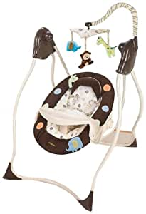 Carter's Safari Friends Swing, Brown/Tan (Discontinued by Manufacturer)