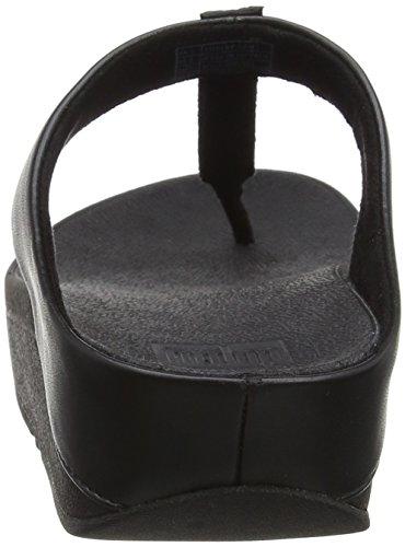 Fitflop Donna 1 Aperta Sandals Strobe thong Sandali Punta Nero Toe Fino black rnqH8wUra