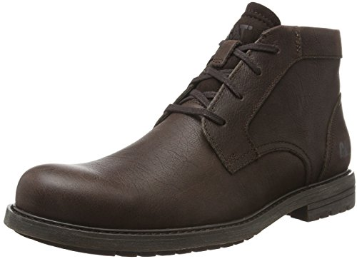 mens Bean Caterpillar Para Hombre Chukka Coffee Botas Brock Marrón twqY8tr