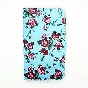GDW Teléfono Móvil Samsung - Carcasas de Cuerpo Completo - Diseño Especial - para Samsung S4 I9500 Cuero PU )
