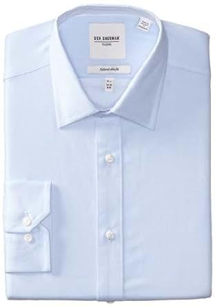 Ben Sherman Men's Twill Dress Shirt