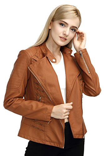 Leather Jackets For Women With Studs - 9