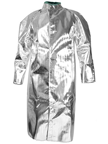 National Safety Apparel C17ASXL50 Acrysil Coat, 16 oz., X-Large, Aluminized by National Safety Apparel Inc