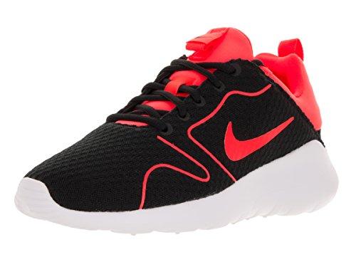 NIKE Men's Kaishi 2.0 BR Black/Total Crimson/White Mesh Running Shoe 13