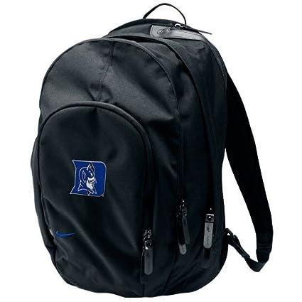 Amazoncom Nike Duke Blue Devils Core Black Backpack Basic