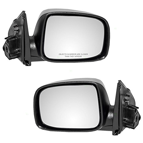(Driver and Passenger Manual Side View Mirrors for 04-12 Chevrolet Colorado GMC Canyon Replacement also fits 06-08 Isuzu i-Series Pickup Truck 15246904 15246903 AutoAndArt)