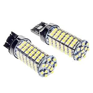 GD T20 5W 400LM 6000-6500K 102-LED bombilla de luz blanca para coche (12V DC)
