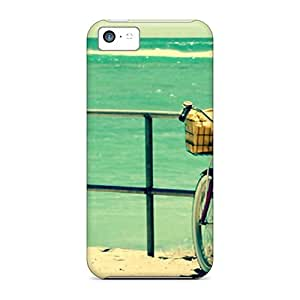 Case Cover Summerbecyclegirl/ Fashionable Case For Iphone 5c