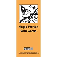 Magic French Verb Cards Flashcards (8): Speak French more Fluently!