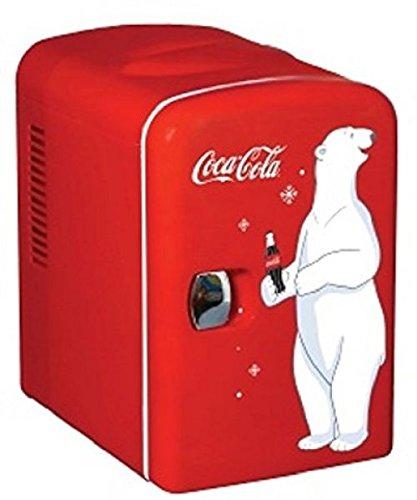 Nessagro Koolatron KWC-4 Coca-Cola Personal 6-Can Mini Fridge .#GH45843 3468-T34562FD177506
