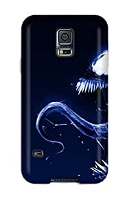 Top Quality Protection Angry Venom Case Cover For Galaxy S5 Sending Free Screen Protector