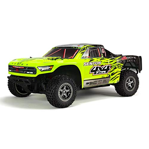 BLX Brushless 4WD RC Short Course Truck RTR with 2.4GHz Radio, 1:10 Scale (Green/Black) ()