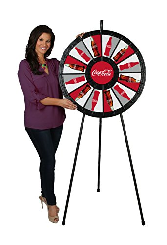 12 to 24 Slot Floor Stand Prize Wheel (31 Inch - Floor Prize Wheel Stand Clicker