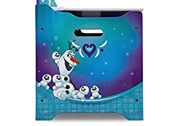 Disney Frozen Deluxe Toy Box with Dry Erase Board, Photo Frame, Elsa, Anna, Snowgies and Olaf