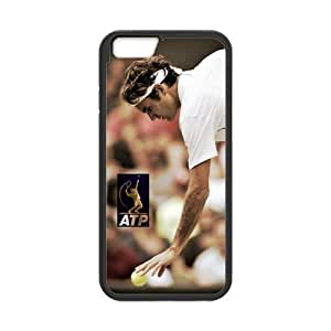 iphone 6 plusd 5.5 Case, [Roger Federer] iphone 6 plusd 5.5 Case Custom Durable Case Cover for iPhone6 TPU case(Laser Technology)