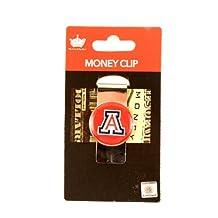 Arizona Wildcats NCAA Sports Team Raised Dome Logo Money Clip