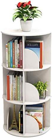 BOOKCASE Creative Rotating Bookcase 360 Degree Bookcase Multi-layer Student Floor Bookshelf (Size :) B