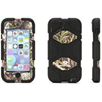 Griffin Obsession/Black Survivor All-Terrain in Mossy Oak Camo for iPod touch (5th/ 6th gen.) - Military-Duty Case for iPod touch plus Stand
