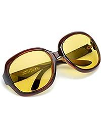 Oversized Night Driving Glasses for Women, Polarized Lens...