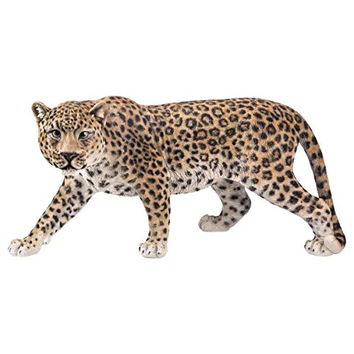 Pacific Giftware PT Large Size Realistic Look Statue Wildlife Leopard Cougar Decorative Resin Figurine (Statues Leopard)