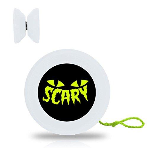 Ta-Ta Frog Halloween Cat Scared Eyes Yo-yo with Ball Bearing Axle and Extra (Halloween Scared Cat)
