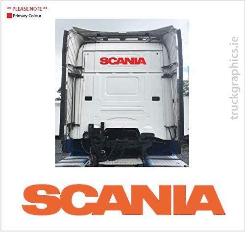 Desconocido Pegatina de Scania en la Parte Trasera de la Cabina 29 ...