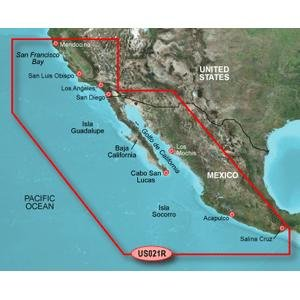 Garmin BlueChart g2 California/Mexico Saltwater Map microSD Card (Garmin Mexico Micro Sd Card compare prices)