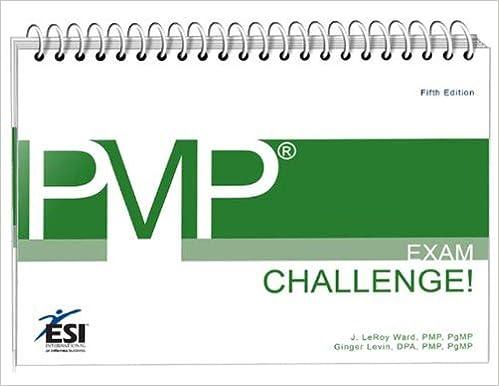 Amazon. Com: pmp exam challenge! (esi international project.