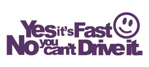 Rieger Vw Golf - Yes its fast no you cant drive it Decal Size:7,9x 2,5