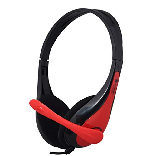 Price comparison product image Buybuybuy Wired Gaming Headset for Xbox One,  PS4,  PC,  Controller,  Noise Cancelling Over Ear Headphones with Mic,  LED Light Bass Surround Soft Memory Earmuffs for Laptop Mac Nintendo Switch (Black)
