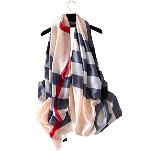 K-ELewon Silk Scarf Fashion Scar...