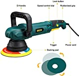 URCERI Polisher Orbital Polisher 9A 1100W 6000