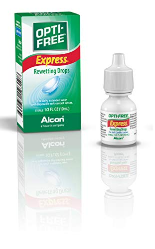 Opti-Free Express Rewetting Drops, 10-mL