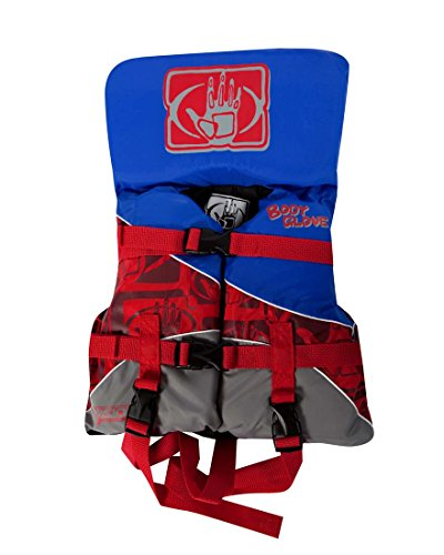 Body Glove 13253I Baby Vision Type II Nylon PFD - USCGA, Blue/Red, INFANT (Type Ii Infant Pfd)
