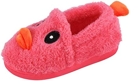 FWEIP Children Home Kids Cotton Shoes Cartoon Cute Warm ...