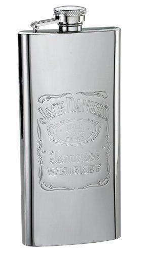 (Jack Daniels Label Design Boot Flask )