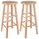 "Winsome Pacey Stool, 29"", Natural"