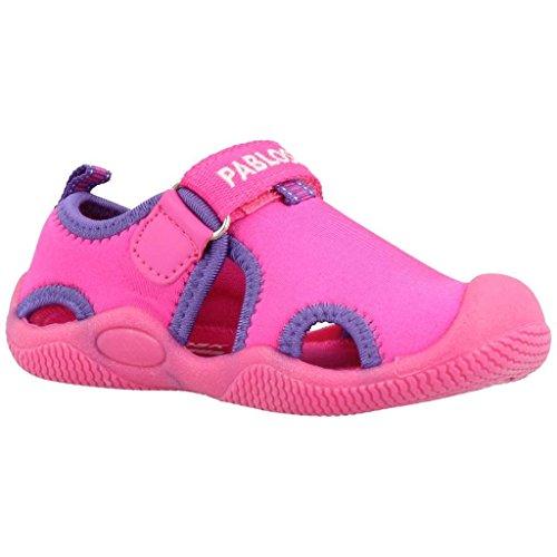 Zapatillas para niña, color Rosa , marca PABLOSKY, modelo Zapatillas Para Niña PABLOSKY MD RUNNER Rosa