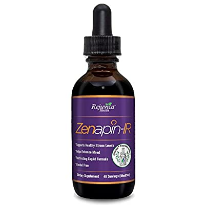 Zenapin IR - All-Natural Liquid Calming Remedy that Works Fast! | 2X Absorption | Kava Kava, Ashwagandha, Passionflower, B-Vitamins & More