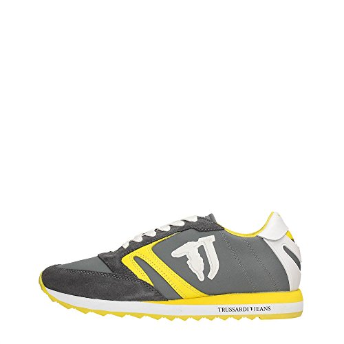 Trussardi Jeans 79S605 Sneakers Mujer GREY/GREEN/YELLOW