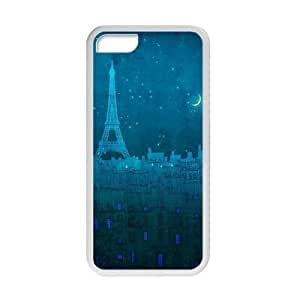 Welcome!Iphone 5C Cases-Brand New Design Eiffel Tower Printed High Quality TPU For Iphone 5C 4 Inch -05 Kimberly Kurzendoerfer