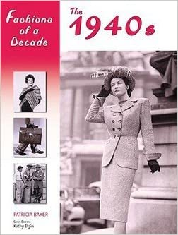 Authentic 1940s Makeup History and Tutorial Patricia Baker: Fashions of a Decade : The 1940s (Hardcover) 2006 Edition  AT vintagedancer.com