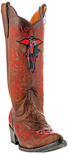 NCAA Texas Tech Red Raiders Women's 13-Inch Gameday Boots, Brass, 10 B (M) US from GAMEDAY BOOTS