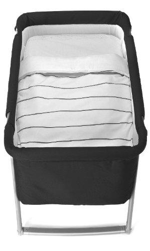 BABYHOME - Saco Nórdico Babyhome Sleeping Bag Minimal Nature para Minicuna blanco/tostado