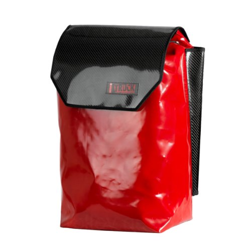 Original Andersen Royal Shopper Carbon rot, mit 3-Speichenrad