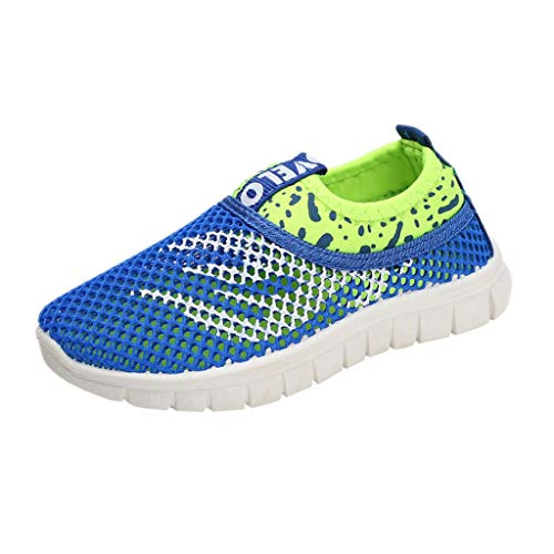 - Infant Kids Baby Boys Girls Mesh Fire Print Sport Run Sneakers Casual Shoes