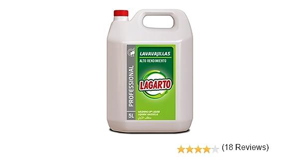 Lagarto Lavavajillas Concentrado, 5L: Amazon.es: Salud y cuidado ...