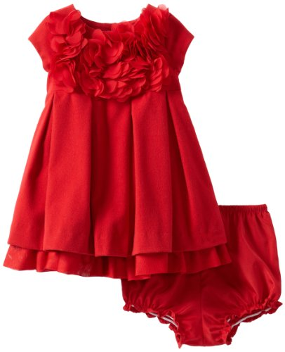 Amazon.com: Pippa & Julie Baby Girls' Petal Dress, Red, 12 Months ...