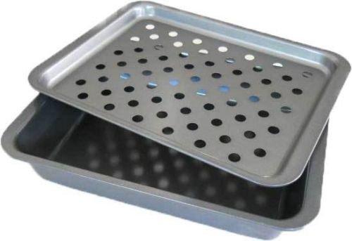 2ピースブロイラーパンスモールトースターオーブン範囲ストーブrack-キッチンツール&ガジェット B011977W3U