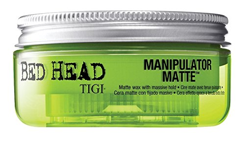 TIGI Bed Head Manipulator Matte Gel for Unisex, 2 Ounce (Wax Head Styling)